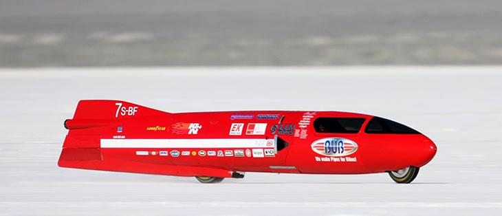 Bub 7 at speed