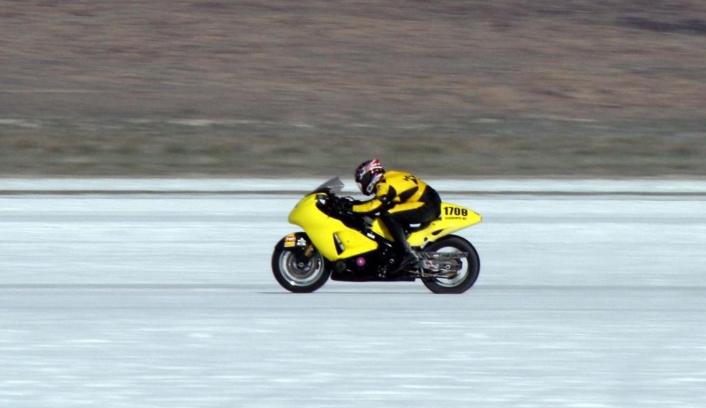 Scott Horner speed Record Bike
