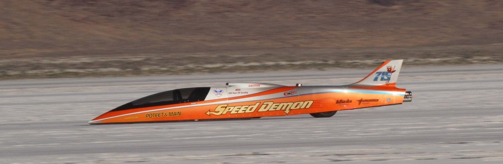 Poteet Amp Main Speed Demon 439 024 Mph Landspeed Events